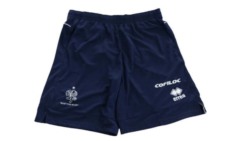 Ian McKinley's Official Benetton Rugby Worn Shorts, 2018/19