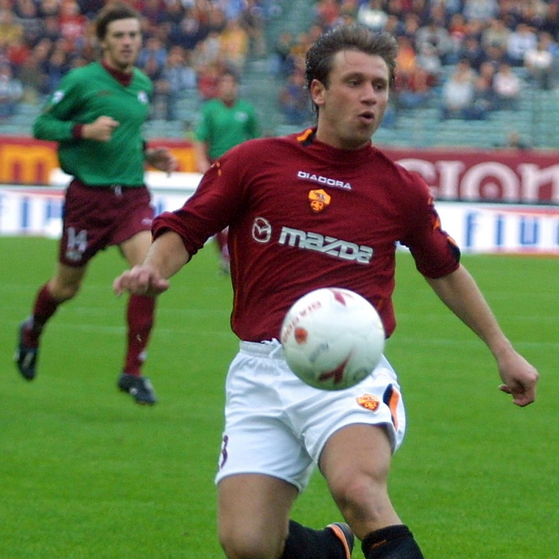 Cassano's Official Roma Signed Shirt, 2003/04