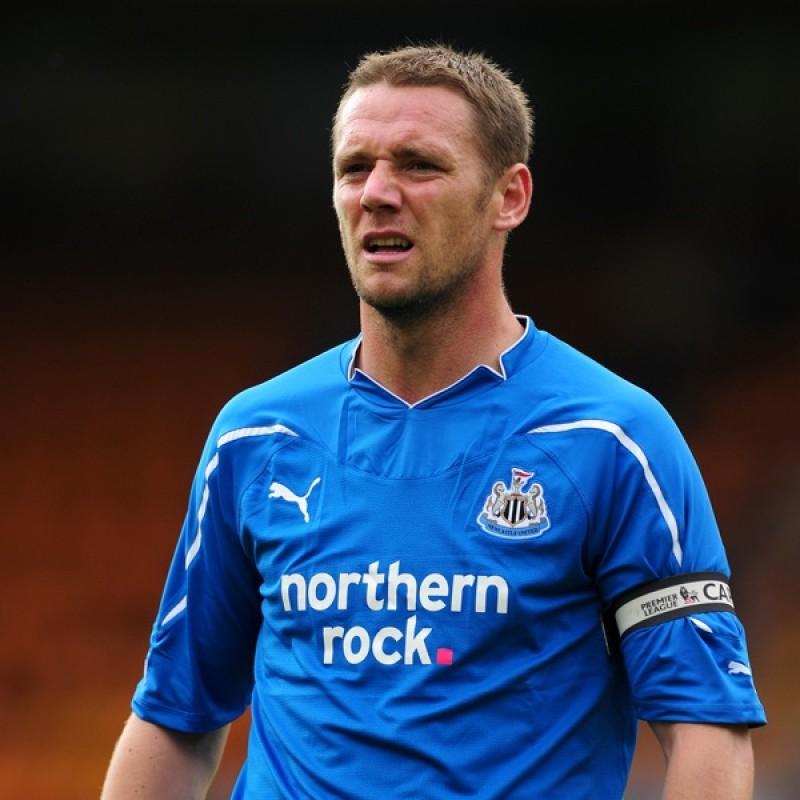 Nolan's Official Newcastle Signed Shirt, 2010/11