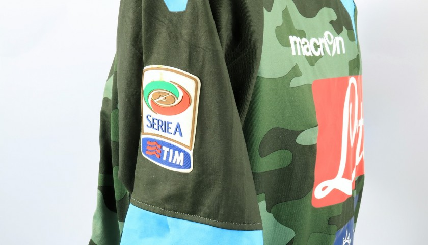 Pandev's Napoli Worn and Signed Shirt, 2013/14