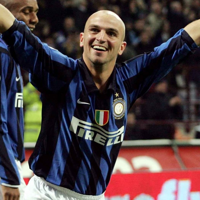 Cambiasso's Worn Shirt, Inter-Empoli 2008