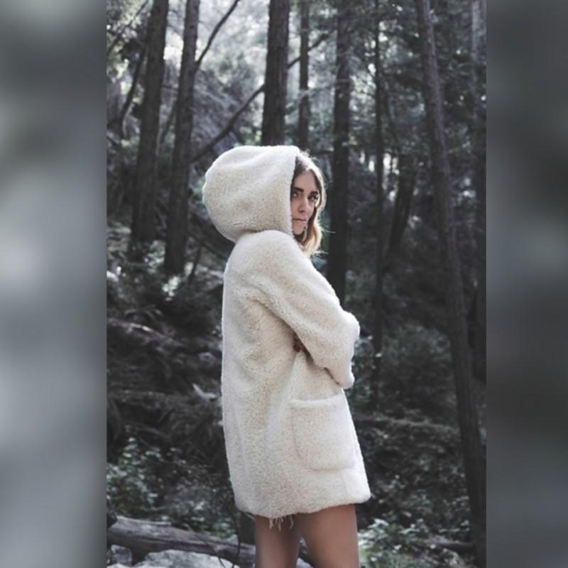 Peuterey Coat Like One Worn by Italian Blogger Chiara Ferragni