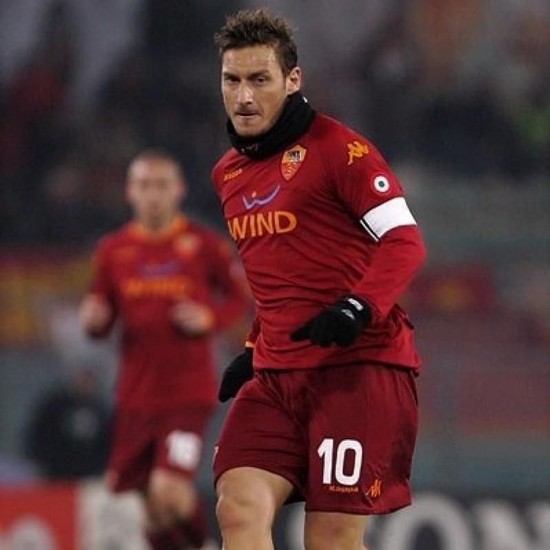 Maglia gara Totti Roma, Serie A 2008/09