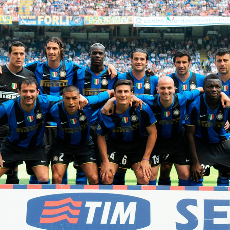 Inter 17th Scudetto Shirt - Signed by Javier Zanetti