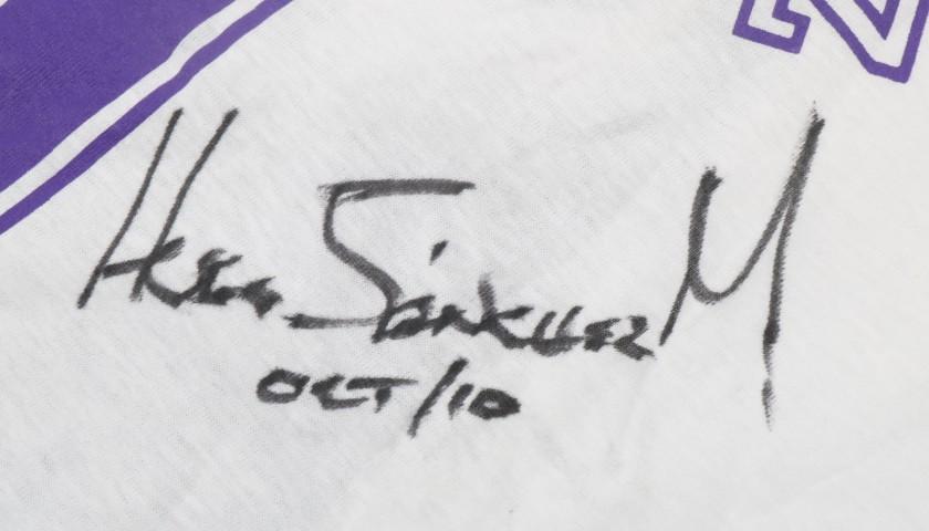 2f7ae1391 Official Hugo Sanchez Autographed T-Shirt - CharityStars