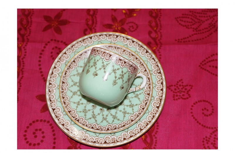 China Cup and Saucer, Set 2