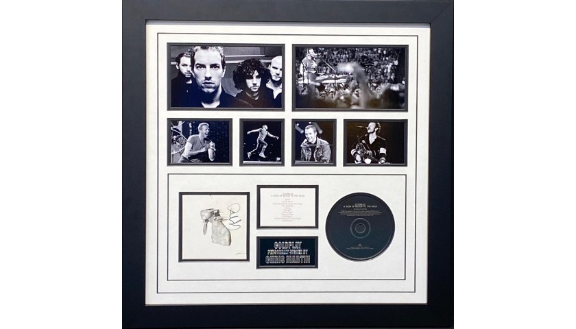 Coldplay Signed Display