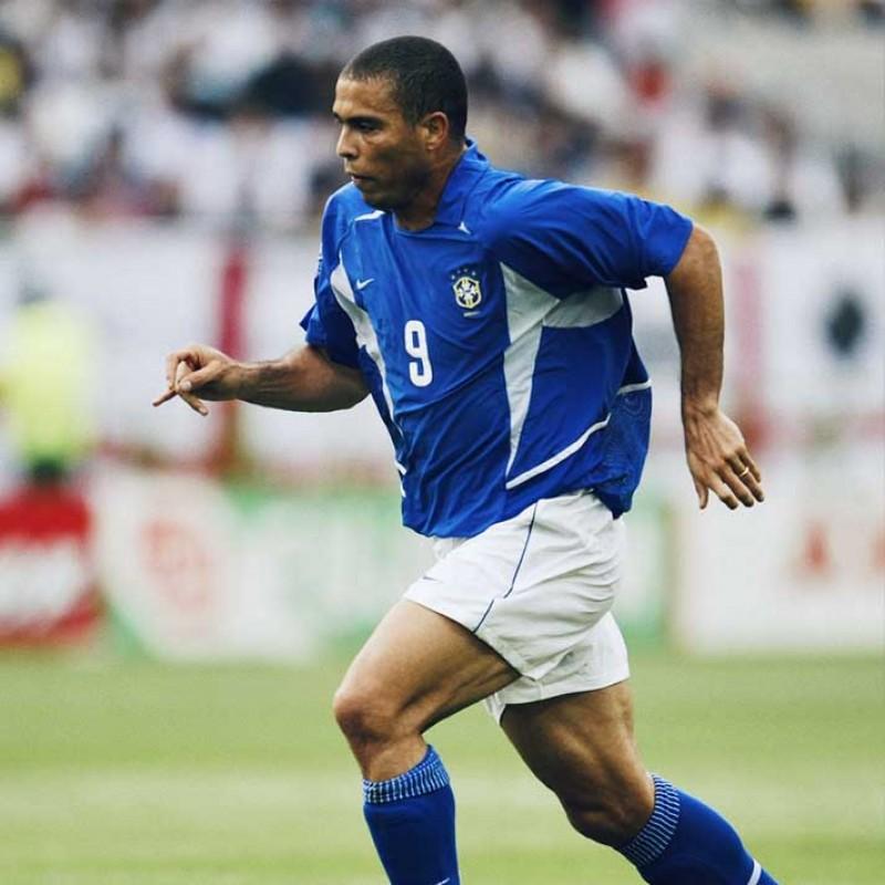 Ronaldo's Brazil Match Shirt, 2002