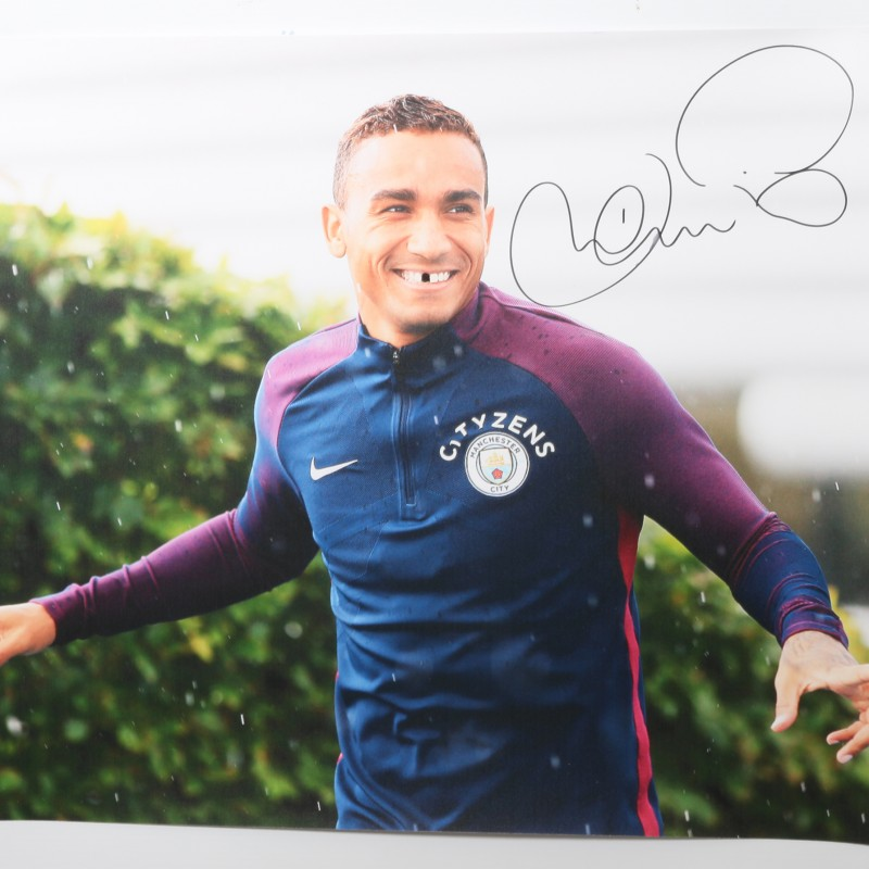 Graffiti Signed Picture of Danilo