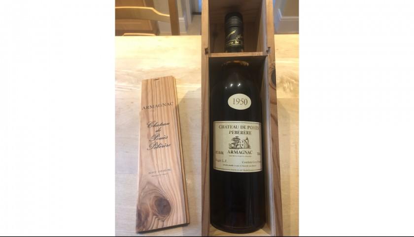 Bottle of 1950 Chateau De Pomes - Peberere Vintage Armagnac
