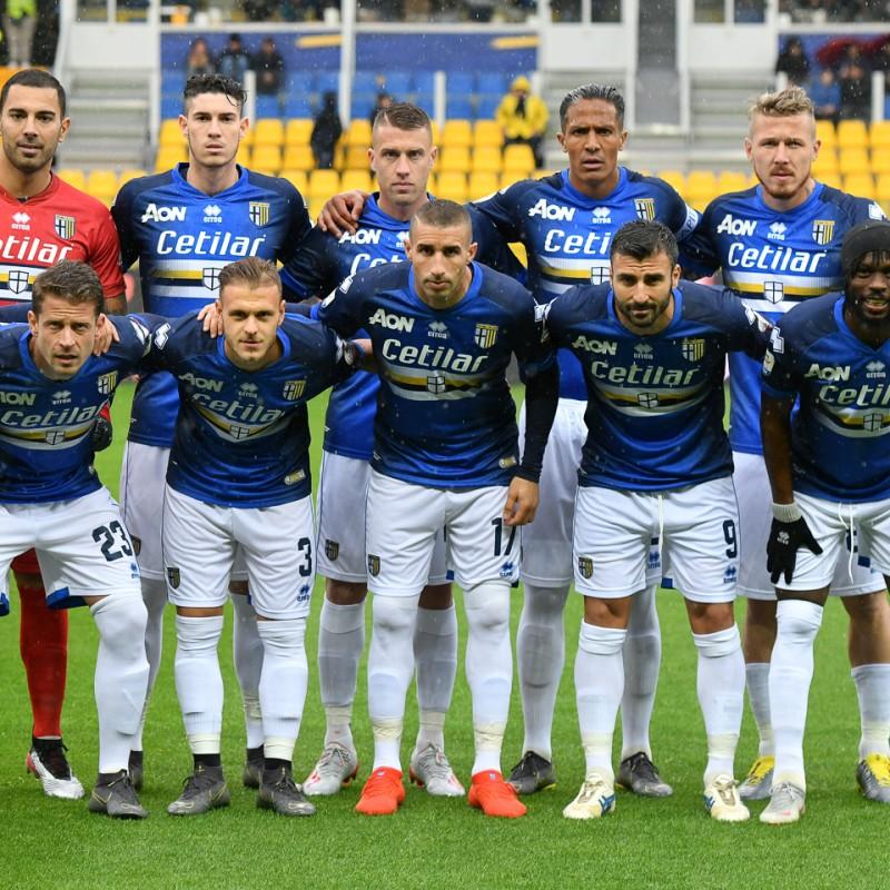 Machin's Worn Shirt, Parma-Sampdoria - #Blucrociati
