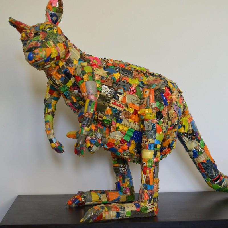"""Canguro"" Sculpture by Julien Garcia"