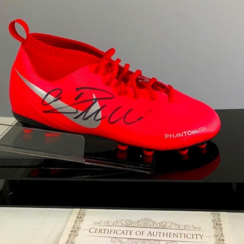 Official Nike Phantom Boot Signed by Cristiano Ronaldo