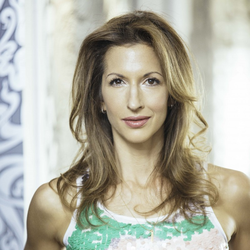 "Aperitivo con la protagonista di ""Orange is the New Black"" Alysia Reiner"