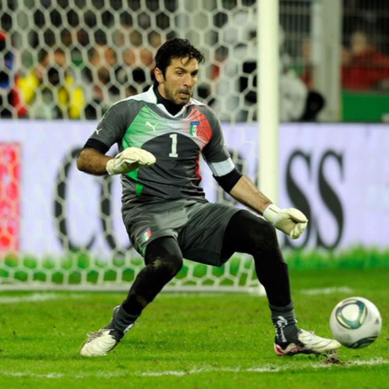 Buffon's Match Shirt, Italy-Ireland 2011