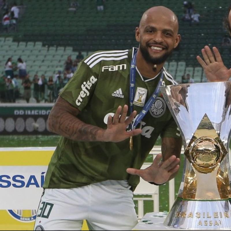 Felipe Melo's Official Palmeiras Signed Shirt, 2018