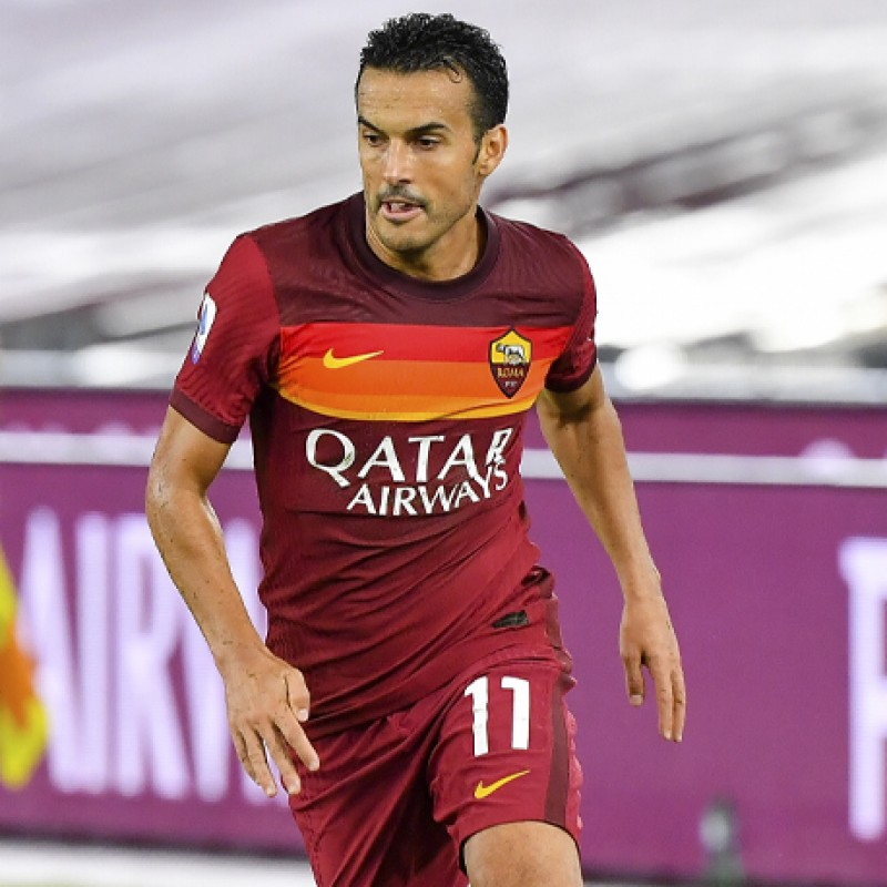 Pedro's AS Roma Shirt, 20/21 - Signed with Dedication