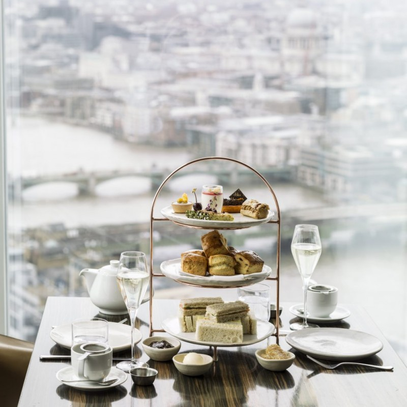 Oblix Champagne Afternoon Tea for 4