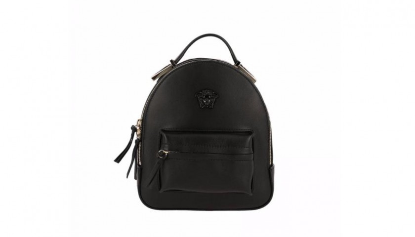 Versace Leather Backpack