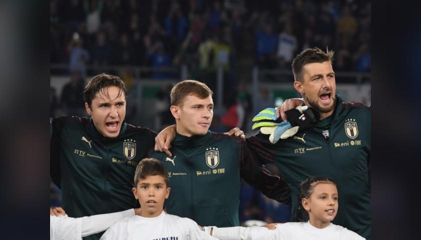 Italy National Football Team Anthem Sweatshirt, 2019/20 Season