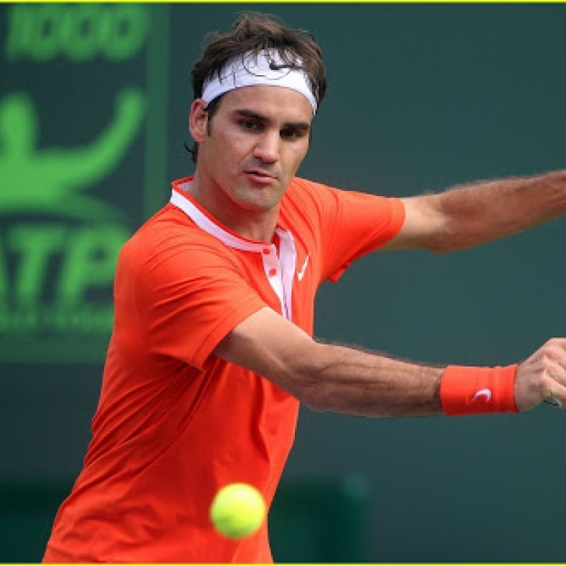 Federer's Match Shirt, Miami Sony Ericsson Open 2010