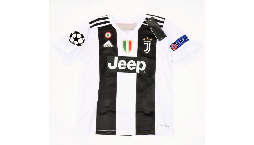the best attitude 4d090 6d717 Official Dybala Juventus Signed Kid's Kit, 2018/19 - CharityStars