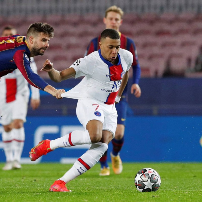 Match-Ball, Barcelona-PSG 2021