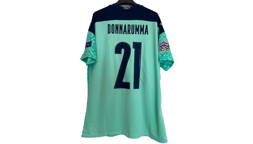 Donnarumma's Match Shirt, Italy-Holland 2020