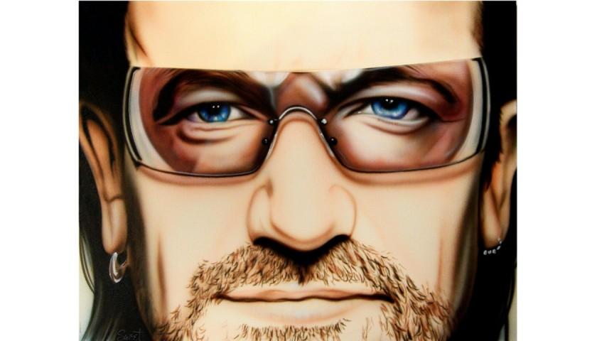 Bono Hand Painted Portrait