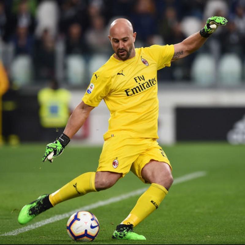 Pepe Reina Match-Issued Puma Boots