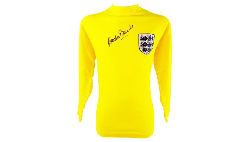 Banks' Retro England Signed Shirt, 1966