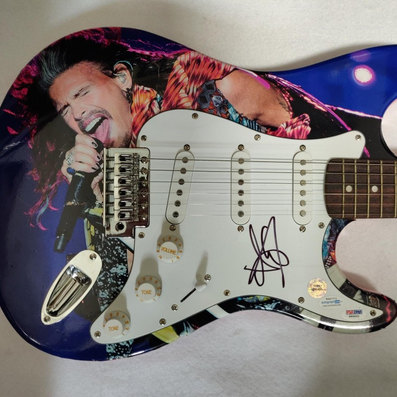 Aerosmith's Steven Tyler Autographed Electric Guitar