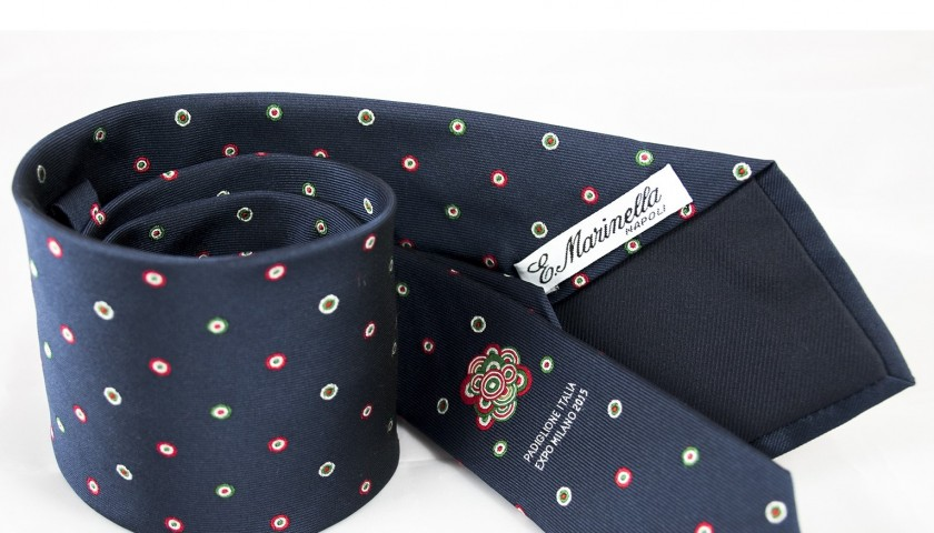 Expo tie realized by Marinella