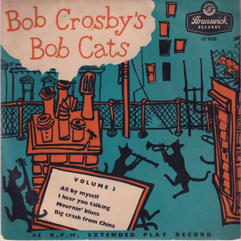 """Bob Crosby's Bob Cats"" Vinyl Single, 1955"