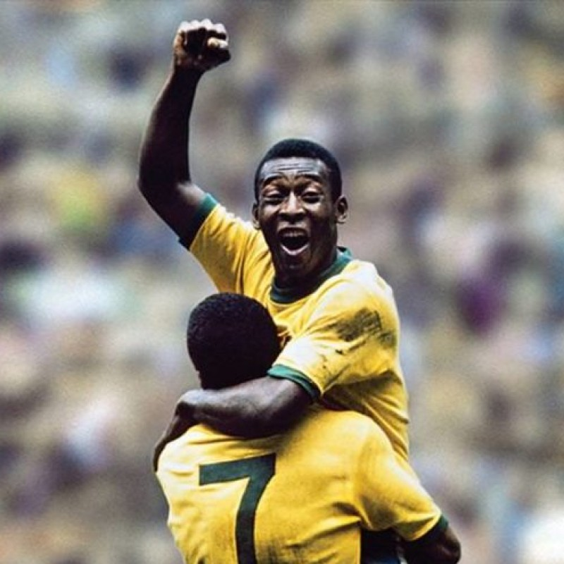 Brasil Cap - Signed by Pelè