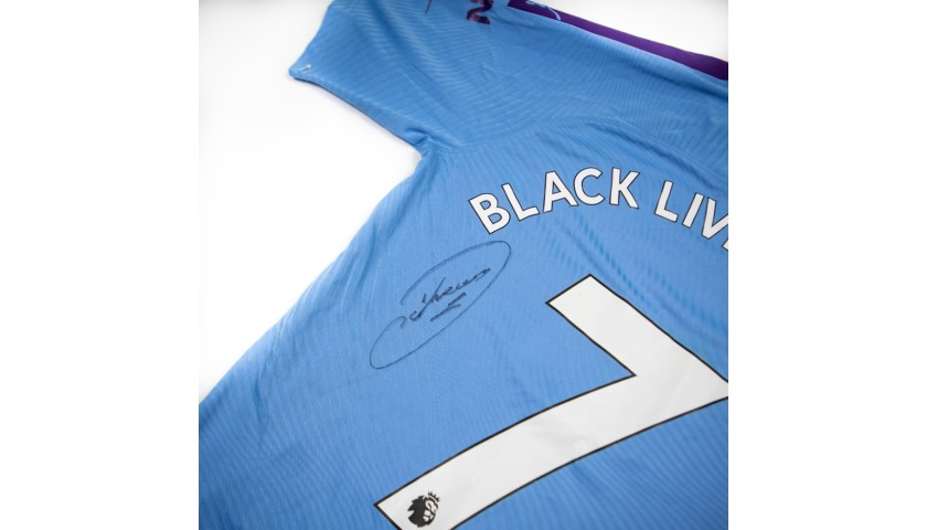 Win a Match-Issued Shirt Signed by Raheem Sterling