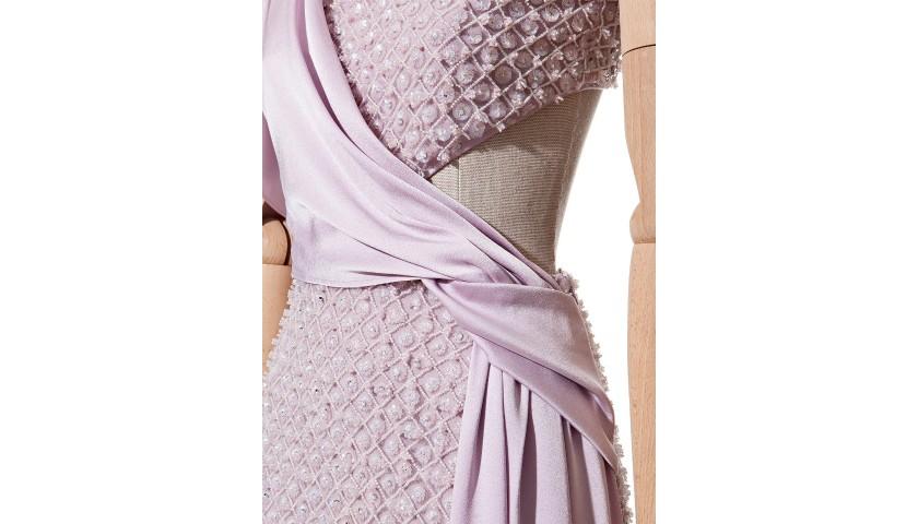 INUÑEZ Silk Dress