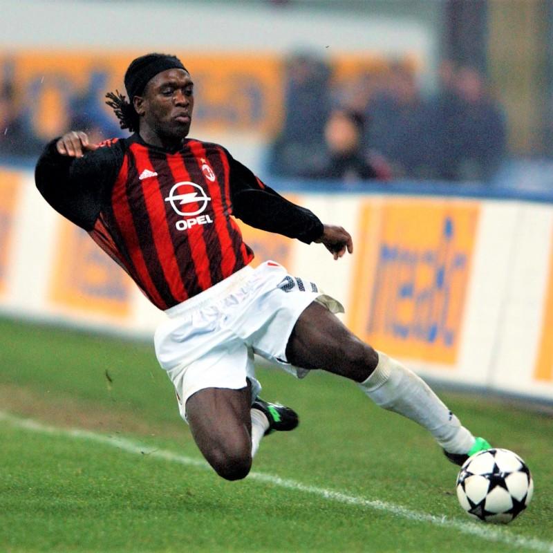 Maglia gara Seedorf Milan, 2002/03