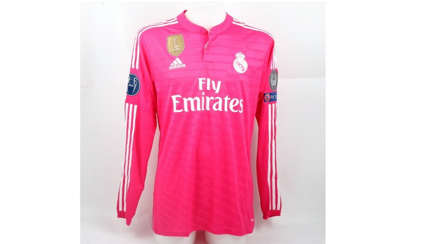 size 40 e4f90 b6e2a Ronaldo Real Madrid, Issued/Worn Shirt, CL 2014/15 - CharityStars