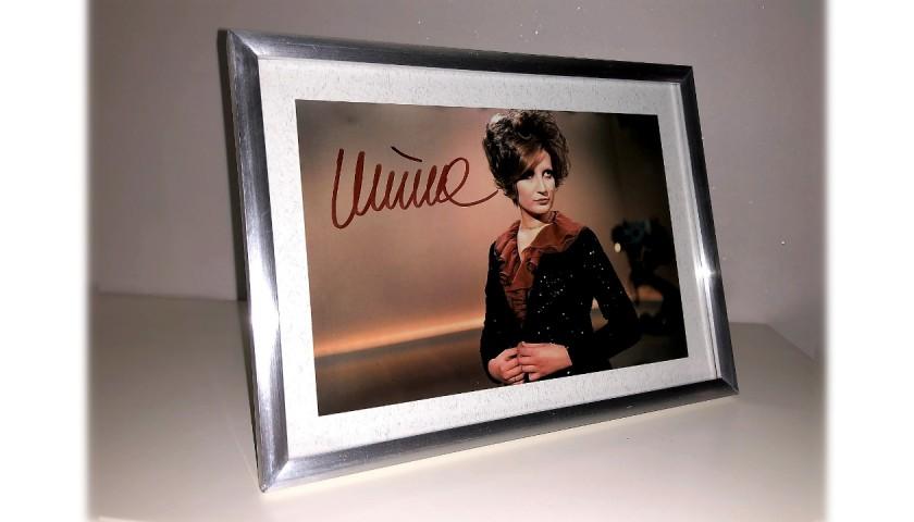 Mina Signed Photograph