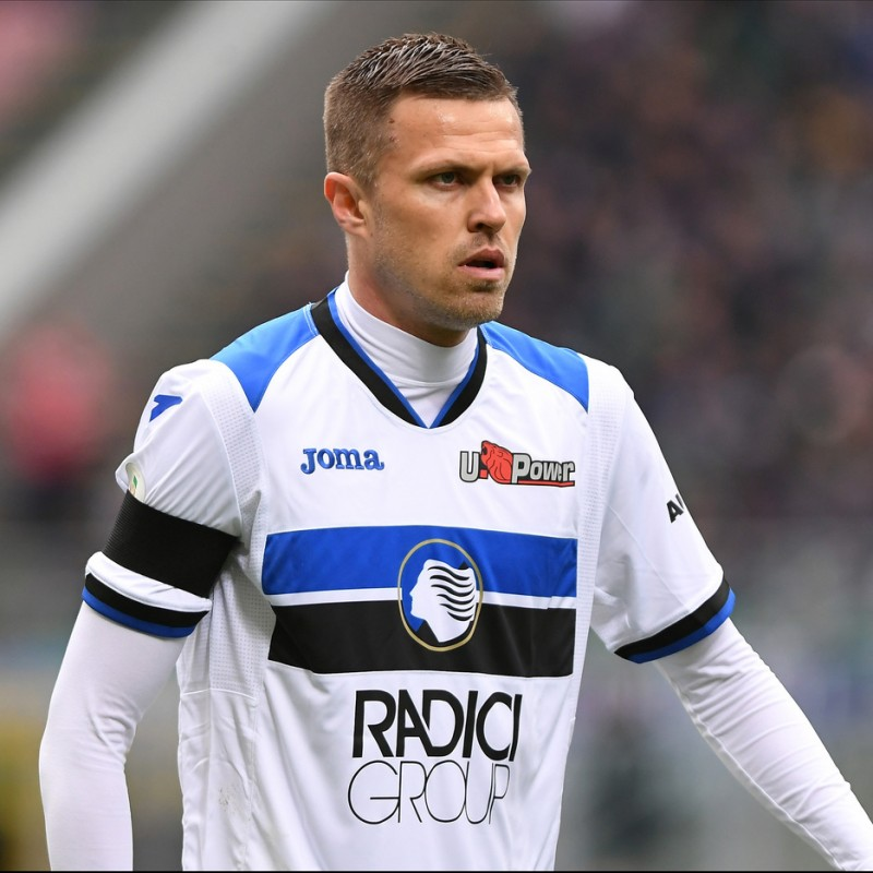Ilicic's Official Atalanta Signed Shirt, 2018/19