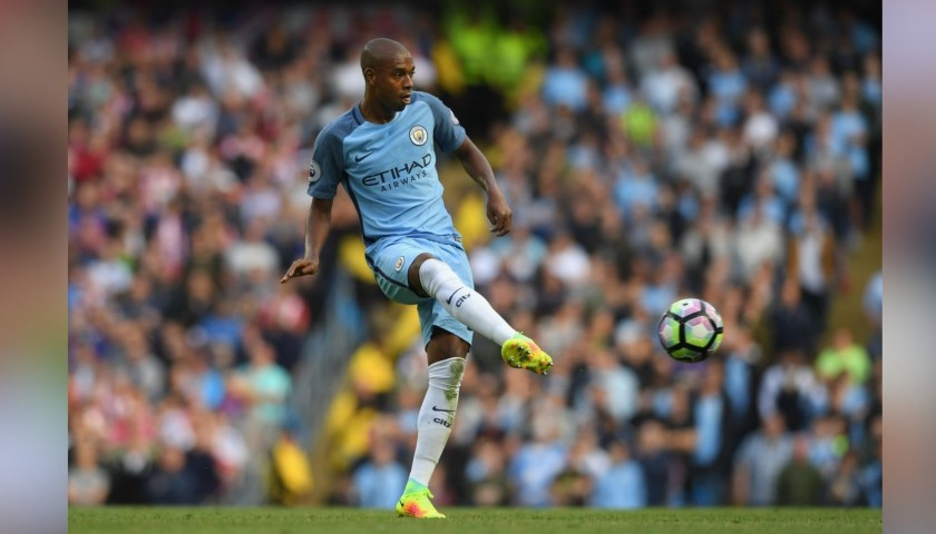 Fernandinho's Match-Issue Nike Boots, 2016/17