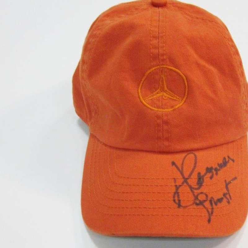 Hat worn and signed by Alessia Trost