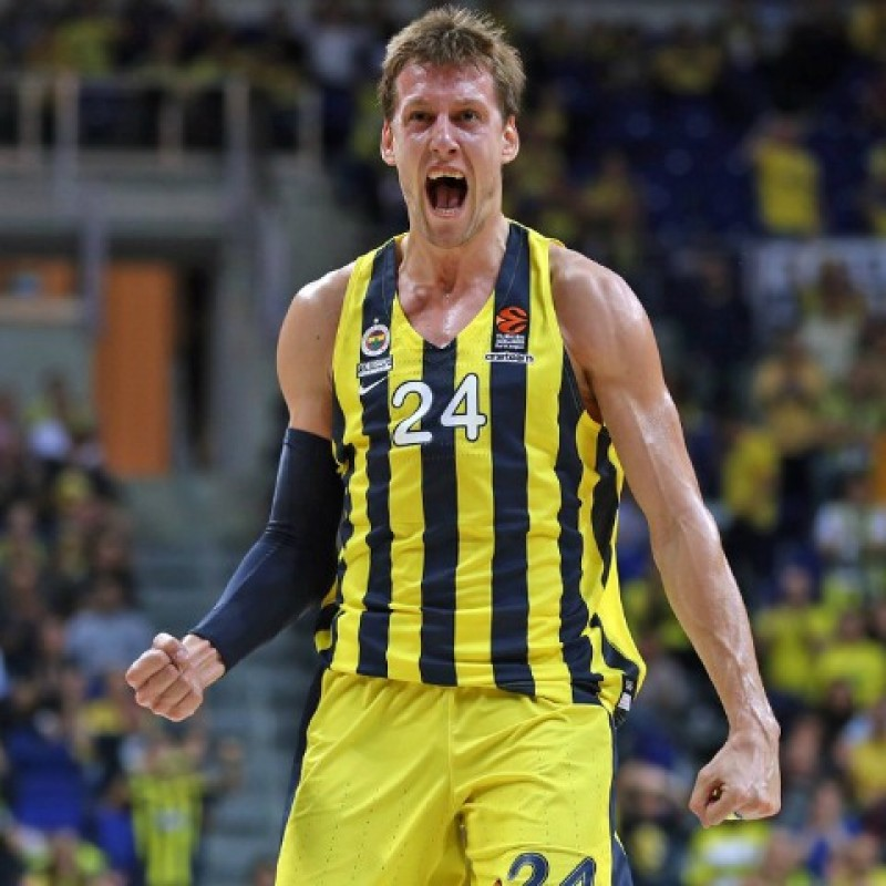 Vesely's Official Fenerbahce Signed Jersey, 2019/20