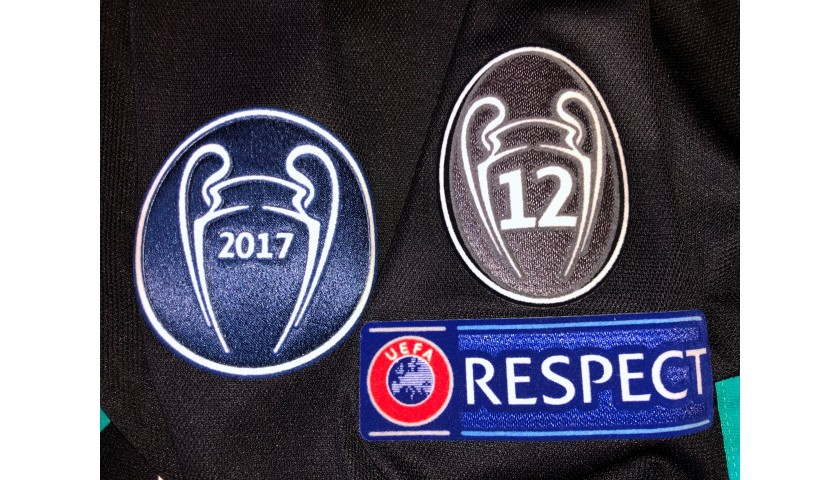 Ronaldo's Match Shirt, Bayern Munich-Real Madrid 2018