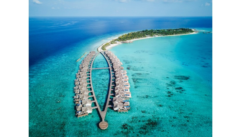 3 Nights Stay at Fairmont Maldives Sirru Fen Fushi for Two People