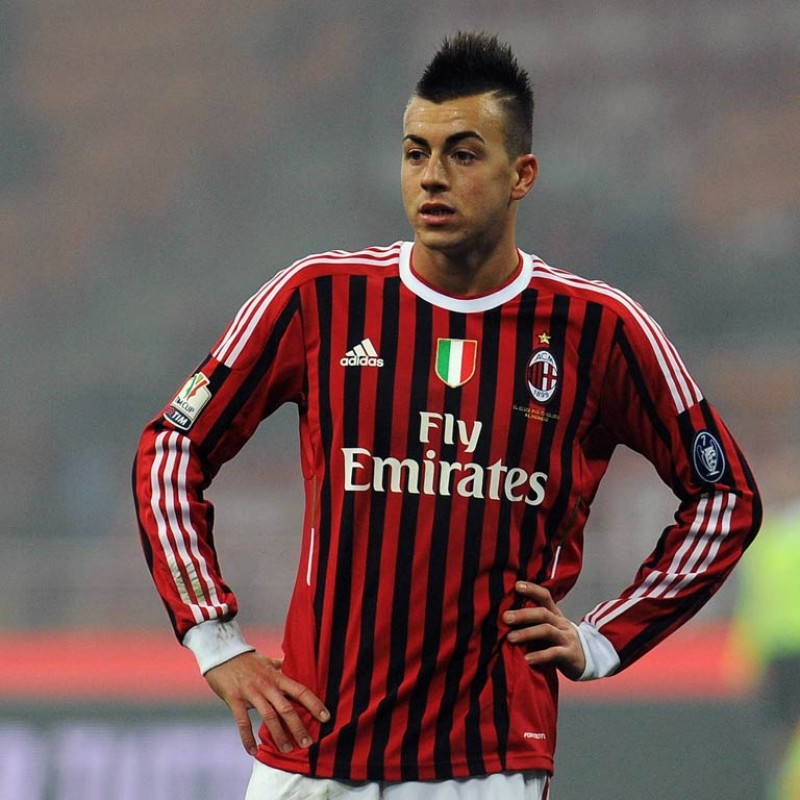 El Shaarawy's Milan Shirt, Serie A 2011/12