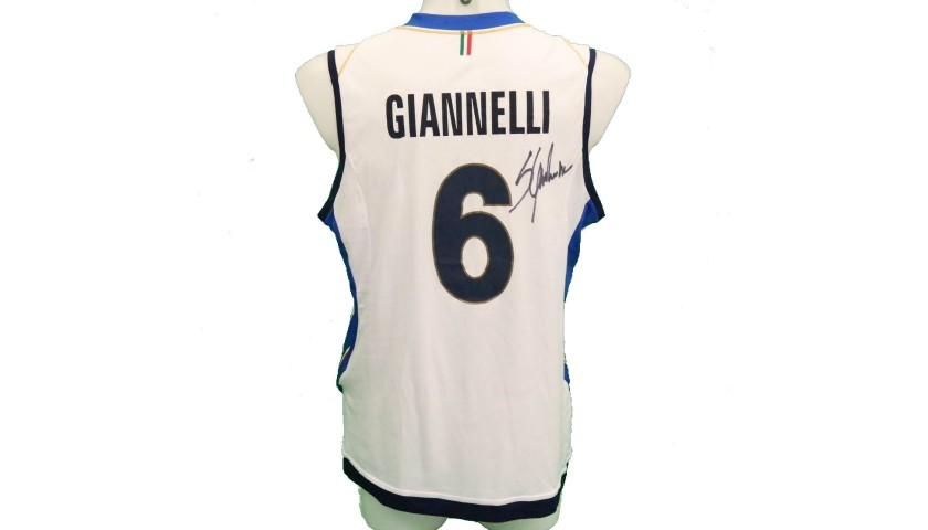 Giannelli's Official Italy Volleyball Signed Shirt, 2018