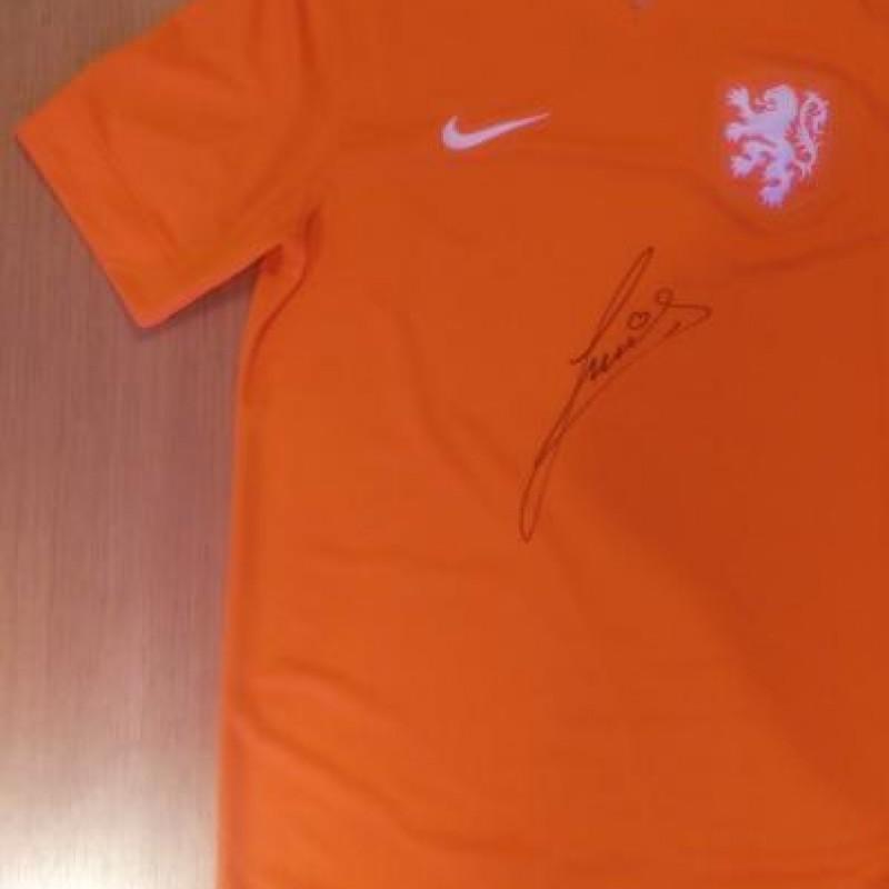 Ruud Gullit signed Holland Shirt