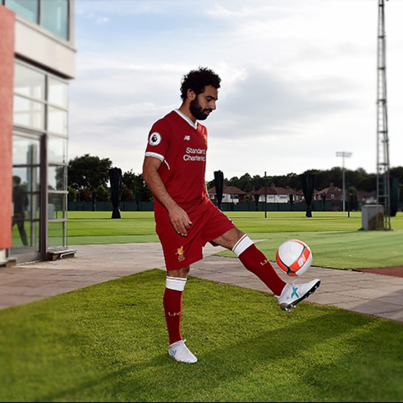 Mohamed Salah's 1st Liverpool Training Boots